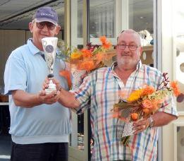 Debutant Johan Heijboer met Frans van Meerveld kampioen.