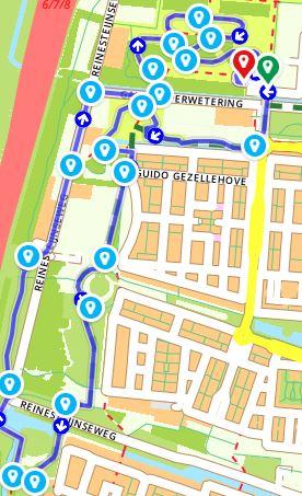 Snert wandeling afgelopen zondag 10 januari 2021